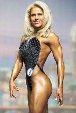 Monica Brant atvinnumaður í formfitness hjá IFBB. (c) Kevin Horton